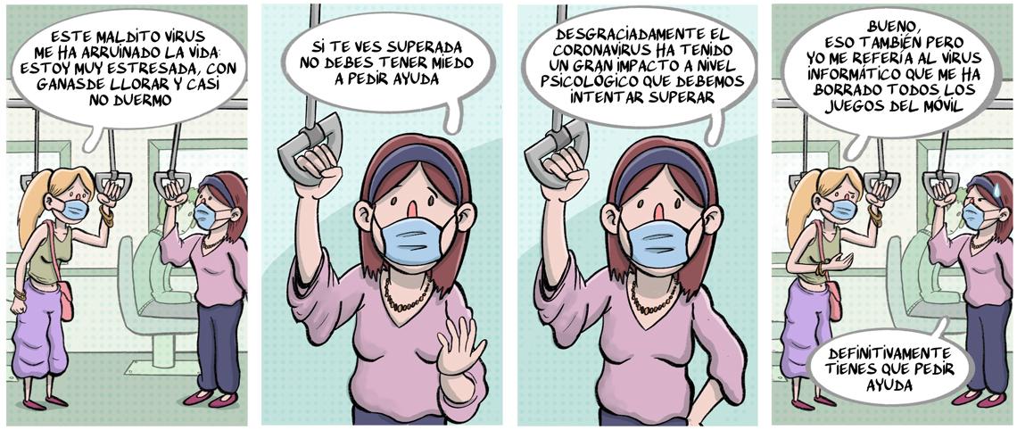 Patologias potenciadas tras el confinamiento por la pandemia de la Covid-19