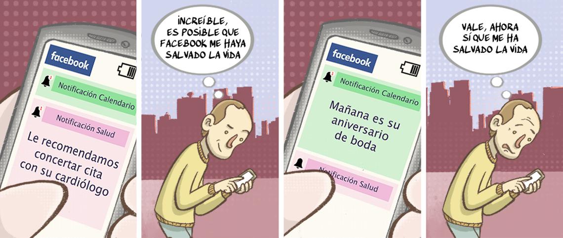 Facebook apuesta por una app de salud preventiva para pacientes